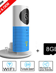 Besteye® 8GB TF Card and Smart Camera IP with IR Night Vision Wireless Surveillance WIFI Camera