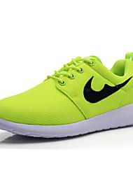 Для женщин Удобная обувь Синтетика Лето Осень Беговая обувь Удобная обувь Шнуровка Темно-синий Черный Темно-зеленый