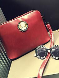 Handcee® Most Popular Simple Design Woman PU Fashion Crossbody Bag