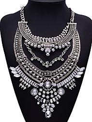 jq jóias grande nome do estilo metal prateado pérolas boêmio colar borla