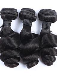 "3Pcs/Lot+10""-30""+Malaysian (Italian)Virgin Hair+ color(natural color)+Loose wave"
