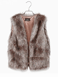 Women Faux Fur Tops (Lined)