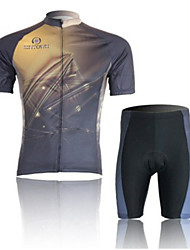 Magic Light Short Sleeved Suit Wicking Riding, Cycling Wear, Motor Function Material