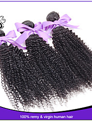 Unprocessed 7A Indian Virgin afro kinky Curly Hair weave Indian Kinky Curly hair bundles 3pcs wave hair