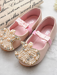 Girls' Shoes Comfort Round Toe Flat Heel Flats Shoes Wedding More Colors available