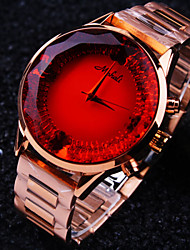 Women's Round A Grade Czech Stones Imported Steel Case Dial Mineral Stainless Steel Band Waterproof Quartz Watch Cool Watches Unique Watches