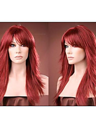 New arrivals Long Red Synthetic hair alice turned hair wig Free shipping