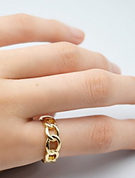 Fashion Chain Hollow Out Ring