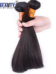 """4 unidades / lote 8 """"-22"""" cabelo 8a peruano cabelo virgem reta humano tramas 100% Remy peruano não transformados tece cabelo"""