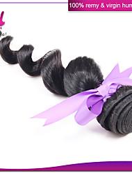 Peruvian virgin hair loose wave unprocessed Peruvian loose wave 1 pieces Peruvian human hair