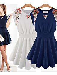 Vestidos ( Renda ) MULHERES - Casual Sem Mangas