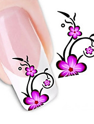 Water Transfer Printing Nail Stickers NO.1366