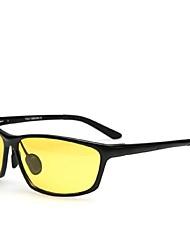 Ciclismo/Conducción/Gafas de visión nocturna/Máscara Protectora hombres 's Polarizada/100% UV400 Wayfarer Gafas de Deportes