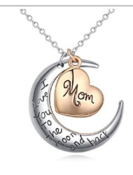 DOMA Women's  Fine Necklace - The Moon In The Heart