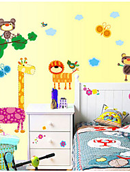 Fat Giraffe Removable Wall Stickers Bedroom Living Room TV Wall Stickers