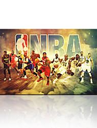 star®hot visuais imagem basquete nba venda impressão de lona arte na lona pronta para pendurar