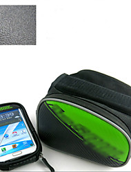 Bike Bag Frame ( colores surtidos , Cuero PU/Oxford/PVC , 12L L)  Impermeable/Resistencia a los golpes/Listo para vestir/Multifuncional