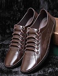 2015 New Fashion Hot Sale Men's Shoes Office & Career/Casual Leather Oxfords Black/Brown