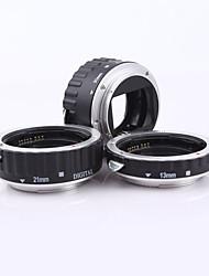 металл смонтировать автофокус Макрос Удлинитель кольцо AF для камеры Canon EOS линзы