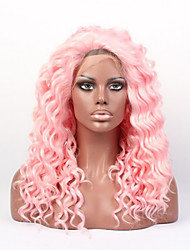 In Stock #3100B Color 18inch Body Wave Synthetic Wigs,Lace Front Wig