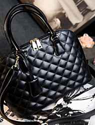 Handcee® Most Popular Vintage Design Quilted Woman PU Tote Bag