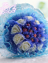 11 Edible Lollipop Flower Children's Day Present The Valentine's Day Gift