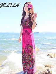 YIGELILA Women's Boho Long Beach Dress