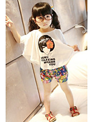 Kid's Casual/Print/Cute/Party Suit (Cotton)