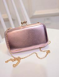 Fashion Solid Chain Handbag Shoulder Bag Diagonal Packet Mini Hand