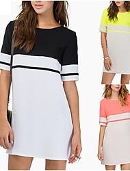 Mifan    Women's Sexy/Casual/Work Dresses (Chiffon)