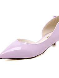 Women's Shoes Low Heel Heels Pumps/Heels Casual Black/Purple