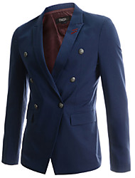 liveshow,Men's Suits & Blazers , Cotton/Rayon Long Sleeve Vintage/Casual/Party/Work liveshow