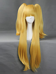 BANDAI NAMCO Entertainment Cinderella girls Yellow 80cm+50cm Cosplay Wigs