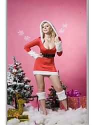 - Santa Anzüge - für Frau - N/A - mit Gymnastikanzug/Ohrring