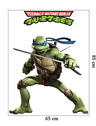 wall stickers Vægoverføringsbilleder, køligt Teenage Mutant Ninja turtles pvc væg sticker