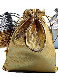50PCS Drawstring Jewellery Pouch Wedding Gift Bag 70x55mm