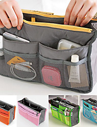 Women's Fashion Casual Multifunctional Mesh Cosmetic Makeup Bag Storage Tote Organizer(5 Color Choose)