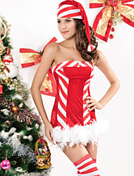 Halloween Christmas Cosplay New Year Female Princess Series Costumes Santa Suits Holiday JewelrySkirt