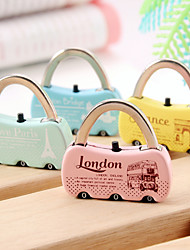 Fashion Multi-function Combination Password Lock Bag Lock