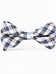 England Plaid Men Bow Ties