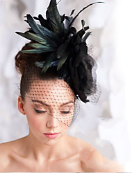 Hand Made  Feather Hair Fascinator Headpieces Fascinators 003