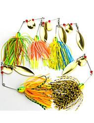 """1 pcs Spinnerbaits / leurres de pêche Leurre Buzzbait & Spinnerbait Couleurs assorties 16.3g g/5/8 Once mm/2-3/8"""" pouce,MétalPêche au"""