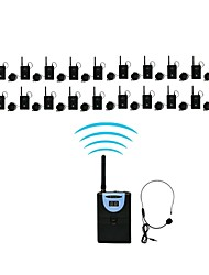 2.4G Digital Wireless Tour Guide / Translation system (1 Transmitter and 20 Receivers)
