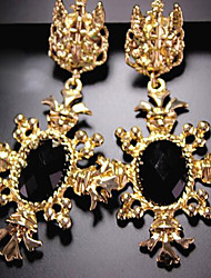 """New Arrival Hot Selling High Quality Gem Rhinestone Exaggerated Earrings"""