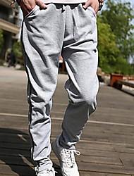 Pantalones ( Algodón )- Casual Manga Larga para Hombre