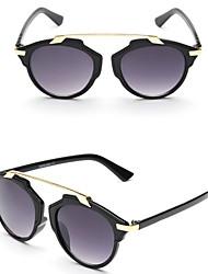 Sunglasses Women's Modern / Fashion Cat-eye Black / White / Pink / Leopard / Transparent Sunglasses Full-Rim