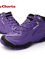 2015 Clorts Women New Outdoor Shoes Hiking Boots Climbing Mountain Boots Hot Sale Color Purple 3B026B