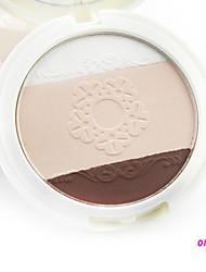 Miss YIFI Unique Design 3 Colors Pressed Powder 10g