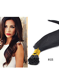 "18""-30""100g/pack Pre Bonded Stick Hair I Tip Keratin Hair Extensions Human Hair Extension in Stocks"