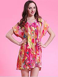 WEST BIKING® 2015 Women's Casual Loose Pajamas Nightgown Home Service